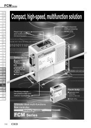 CKD series FCM small size flow controller