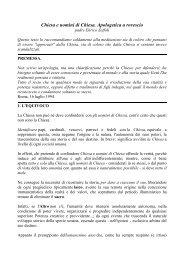Apologestica a rovescio - InternEtica