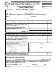 Advanced Pilot (PG) certificate Application - Hang Gliding ...