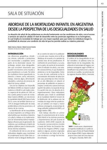 sAlA de situAción - Comisión Nacional Salud Investiga
