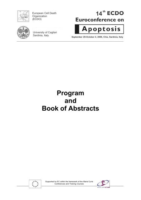 Program and Book of Abstracts - DMBR