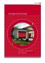 Garagentorantriebe - UNINORM Technic AG