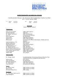 Konstituierende Sitzung am 7. und 8. Februar 2008 - Deutsche ...