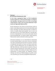 PR-Text Scheufelen-Think big Wandkalender 2010