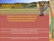 Klik hier voor 36e editie juni 2011 - Indo Privé