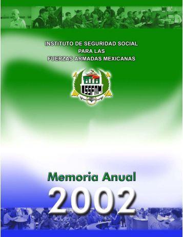Memoria Anual 2002 - Issfam