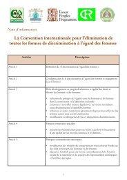 Note d'information 10: La CEDEF (0.3 MB) - Forest Peoples ...