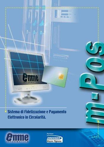Sistema di Fidelizzazione e Pagamento Elettronico in Circolarità.