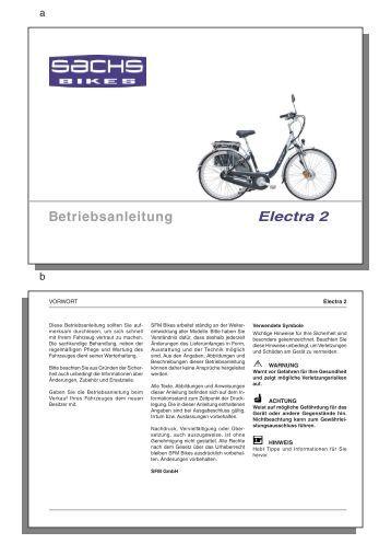 BA SACHS Electra 2 D WEB.indd - SFM-Bikes