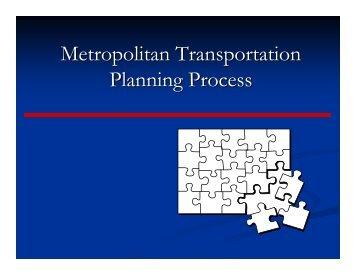 Transportation Presentation by New York Metropolitan ...