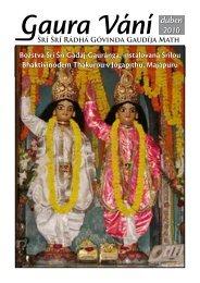 duben 2010 - Sri Sri Radha Govinda Mandir