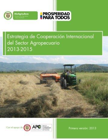 Estrategia de Cooperación Internacional - Ministerio de Agricultura y ...