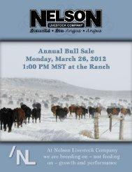 2012 NLC sale catalog.pdf - American Simmental Association