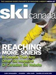 Media Kit - Ski Canada Magazine