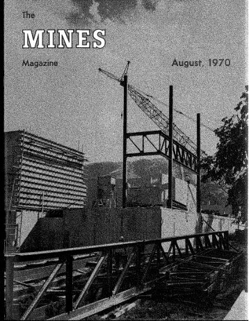 Mines Magazine - Colorado School of Mines