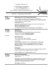 13. Gilchinger Kunstwoche - Kultur-Portal Gilching