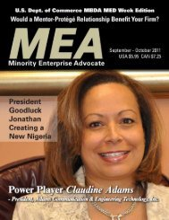 MEA - Minority Enterprise Executive Council