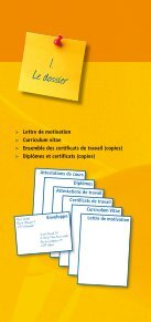 Le dossier de candidature - Espace emploi - Page 2