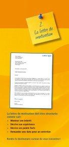 Le dossier de candidature - Espace emploi - Page 3
