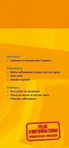 Le dossier de candidature - Espace emploi - Page 7