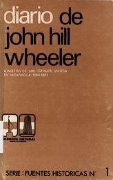 Diario de John Hill Wheeler Ministro de los Estados Unidos en ...