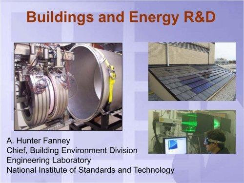 Buildings And Energy R&D - FLC Mid-Atlantic Region