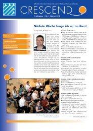 Ausgabe 01/2010 - Luzerner Kantonal-Blasmusikverband