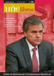 Noticias UNElibros 26.indd - Unión de Editoriales Universitarias ...