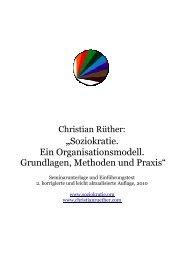Soziokratie – Ein Organisations