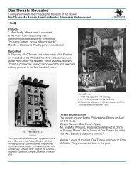 1940 - Philadelphia Museum of Art