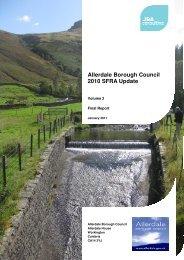SFRA (Update 2010) Vol 2 in PDF format - Allerdale Borough Council