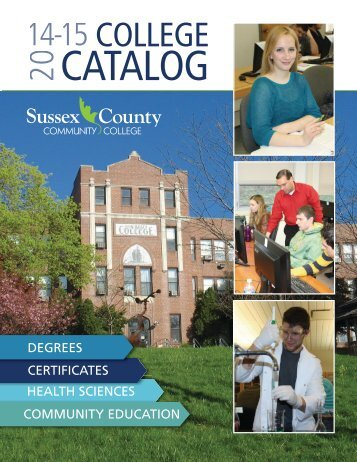 College Catalog 11-13-CJS_Layout 1.qxd - Sussex County ...