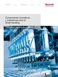 Componentes neumáticos y subsistemas para el ... - Bosch Rexroth