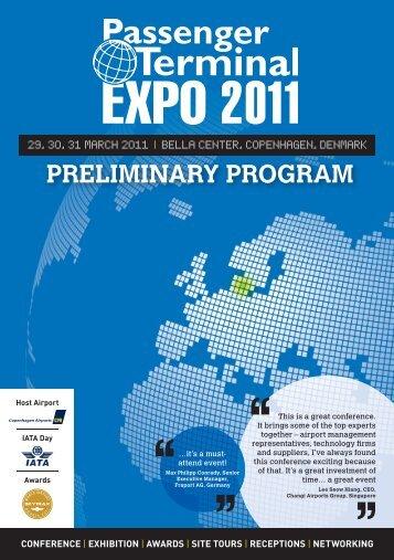 Passenger Terminal EXPO 2012 flyer