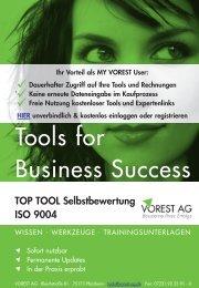 Selbstbewertung nach ISO 9004 - Vorest AG