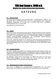 SATZUNG 2011 TBE.pdf - TUS Bad Essen