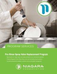 PROGRAM SERVICES - Niagara Conservation
