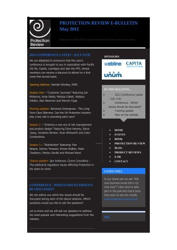 The Protection Review e bulletin June 2012