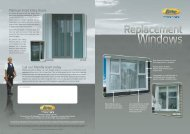 Replacement Windows Brochure in PDF format.