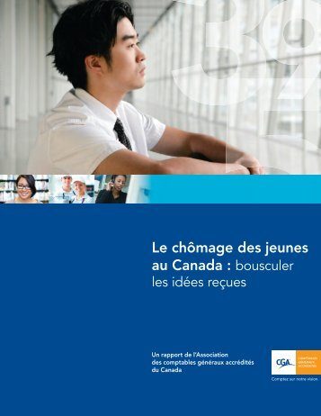Le chômage des jeunes au Canada : bousculer les idées reçues