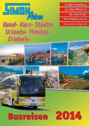 Reisekatalog - Simon Reisen