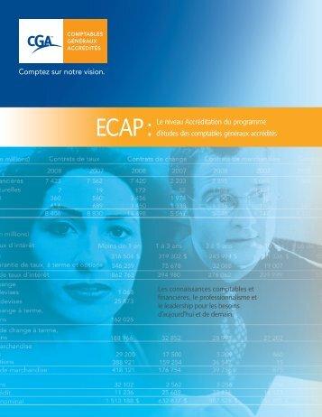 ECAP : Le niveau Accréditation du programme d'études des ...