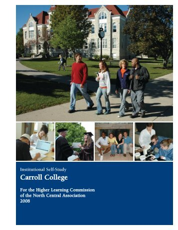 Institutional Self Study - Carroll University