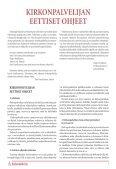 kirkonpalvelijan eettiset ohjeet - Kirkonpalvelijat ry - Page 7