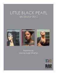 Presented By: Leanne Muller-Wharton - Little Black Pearl