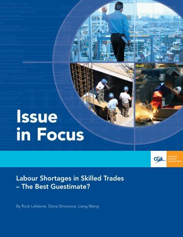 Labour Shortages in Skilled Trades – The Best Guestimate?