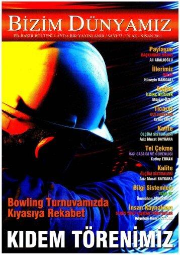 Sayı 33 - Ocak-Nisan 2011
