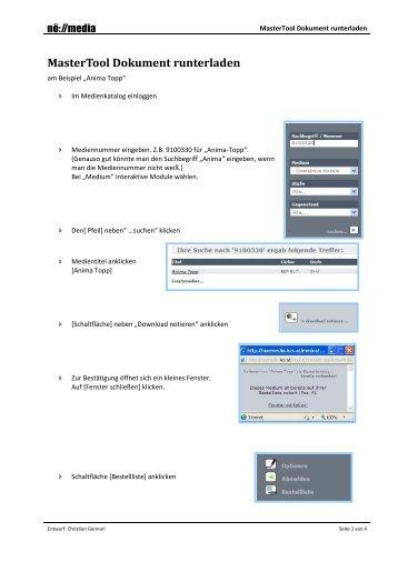 Anleitung: Download MasterTool - Noemedia.at
