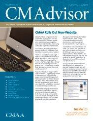 September/October - CMAA