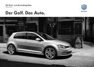 Der Golf. Das Auto. - Volkswagen